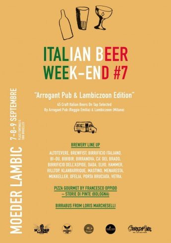 "Italian Beer Week-end #7 ""Arrogant Pub & Lambiczoon Edition"""